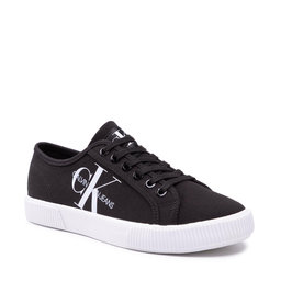 Calvin Klein Jeans Кросівки Calvin Klein Jeans Vulcanized Sneaker Laceup Co YW0YW00402 Black BDS