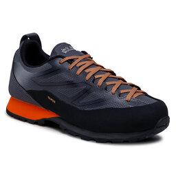 Jack Wolfskin Трекінгові черевики Jack Wolfskin Scrambler 2 Texapore Low M 4045461 Black/Orange