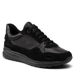 Geox Laisvalaikio batai Geox D Airell A D162SA 02285 C9999 Black