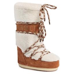 Moon Boot Снігоходи Moon Boot Shearling 14026100001 Whisky/Off White