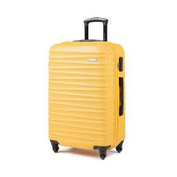 Wittchen Середня тверда валіза Wittchen 56-3A-312-50 Жовтий