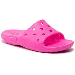 Crocs Шльопанці Crocs Classic Crocs Slide 206396 Electric Pink