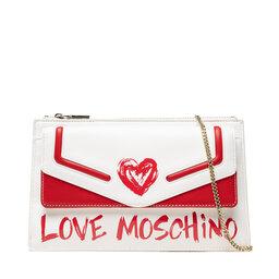LOVE MOSCHINO Rankinės LOVE MOSCHINO JC4260PP0DKE110A Bianco/Rosso