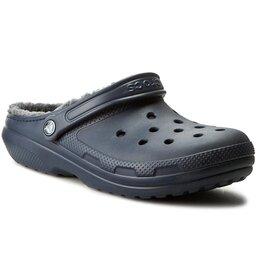 Crocs Шльопанці Crocs Classic Lined Clog 203591 Navy/Charcoal