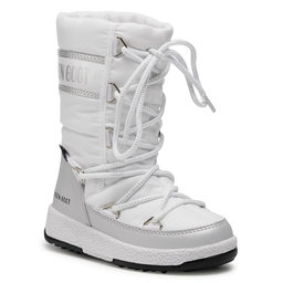 Moon Boot Снігоходи Moon Boot Jr G.Quilted Wp 34051400004 M White/Silver