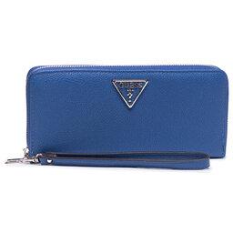 Guess Велике жіноче гаманець Guess Sandrine (Vg) Slg SWVG79 65460 BLU