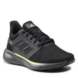 adidas Batai adidas EQ19 Run Winter H01950 Grey Six / Core Black / Signal Green