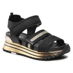 Liu Jo Basutės Liu Jo Maxi Wonder Sandal 7 BA1073 TX116 Gold 00529