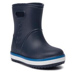 Crocs Гумові чоботи Crocs Crocband Rain Boot K 205827 Navy/Bright Cobalt