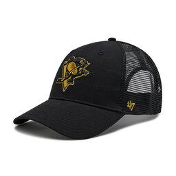 47 Brand Бейсболка 47 Brand Brand NHL Pittsburgh H-BRMTL15CTP-BK Чорний