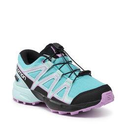 Salomon Взуття Salomon Speedcross Cswp J 412875 09 M0 Scuba Blue/Tanager Turquoise/Orchid