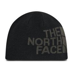 The North Face Kepurė The North Face Reversible Tnf Banner Beanie NF00AKNDG92-OS Tnfblck/Asphaltgreylogoxl