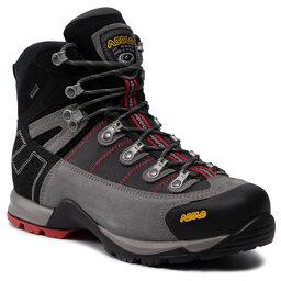 Asolo Трекінгові черевики Asolo Fugitive Gtx Mm GORE-TEX 0M3400 900 Cendre/Gunmetal/Red