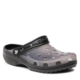 Crocs Шльопанці Crocs Classic Translucent Clog 206908 Black