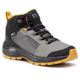 Salomon Turistiniai batai Salomon Outward Cswp J 409722 09 W0 Castor Gray/Black/Arrowwood