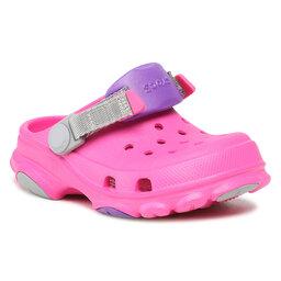 Crocs Шльопанці Crocs Classic All-Terrain Clog K 207011 Electric Pink