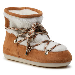 Moon Boot Снігоходи Moon Boot Dk Side Low Shearling 24300500001 Whisky/Off White