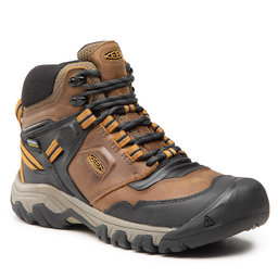 Keen Turistiniai batai Keen Ridge Flex Mid Wp M 1025666 Bison/Golden Bro