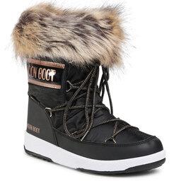 Moon Boot Снігоходи Moon Boot Mb Jr Girl Monaco Low Wp 34052400002 D Black/Copper