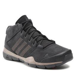 adidas Batai adidas Anzit Dlx Mid M18558 Cblack/Cblack/Sbrown