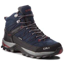 CMP Трекінгові черевики CMP Rigel Mid Trekking Shoes Wp 3Q12947 Asphalt/Syrah 62BN