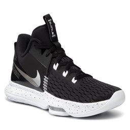 Nike Batai Nike Lebron Witness V CQ9380 001 Black/Metallic Silver/White