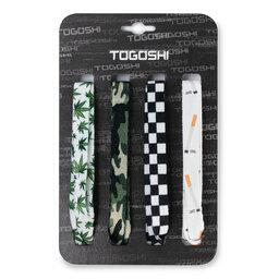 Togoshi Batų raištelių komplektas Togoshi TG-LACES-120-4-MEN-008 Žalia