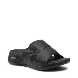 Skechers Шльопанці Skechers Go Walk Arch Fit Sandal 229023/BBK Black