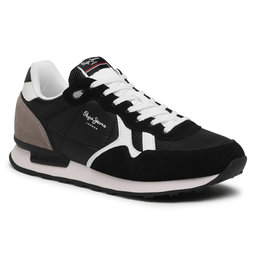 Pepe Jeans Снікерcи Pepe Jeans Britt Man Basic PMS30721 Antracite 982