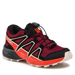 Salomon Трекінгові черевики Salomon Speedcross J 411249 09 M0 Red Dahlia/Cherry Tomato/Vanilla Ice