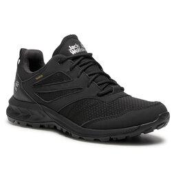 Jack Wolfskin Трекінгові черевики Jack Wolfskin Woodland Texapore Low M 4039211 Black