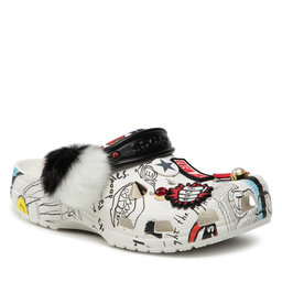 Crocs Šlepetės Crocs Classic Cruella Clog 207401 White