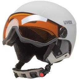 Uvex Slidinėjimo šalmas Uvex Hlmt 400 Visor Style S5662151005 White Mat