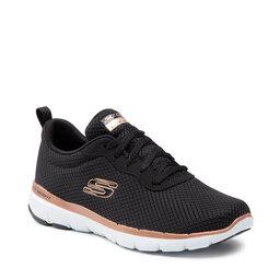 Skechers Взуття Skechers Flex Appeal 3.0 13070/BKRG Black/Rose Gold