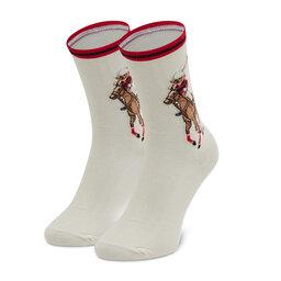 Polo Ralph Lauren Ilgos Moteriškos Kojinės Polo Ralph Lauren 455854082001 Ivory