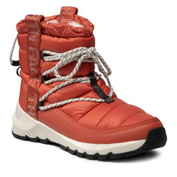 The North Face Sniego batai The North Face Thermoball Lace Up NF0A4AZGT971 Burnt Ochre/Tnf Black