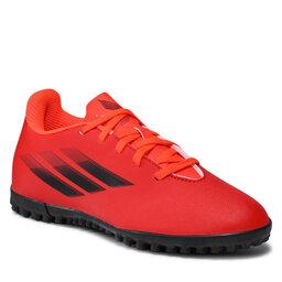 adidas Batai adidas X Speedflow. 4 Tf J FY3327 Red/Cblack/Solred
