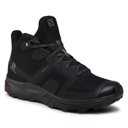 Salomon Turistiniai batai Salomon Outline Prism Mid Gtx GORE-TEX 411200 27 M0 Black/Black/Castor Gray