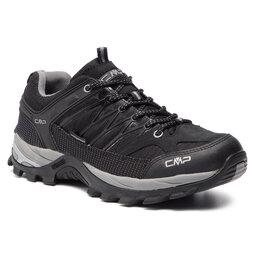 CMP Трекінгові черевики CMP Rigel Low Trekking Shoes Wp 3Q54457 Nero/Grey 73UC