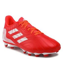 adidas Batai adidas Copa Sense.4 FxG FY6183 Red/Ftwwht/Solred