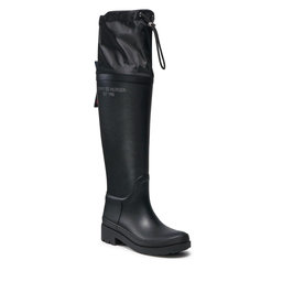 Tommy Hilfiger Guminiai batai Tommy Hilfiger FW0FW05962 Black BDS
