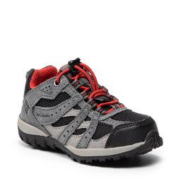Columbia Трекінгові черевики Columbia Redmond Waterproof BC2857 Black/Flame 012