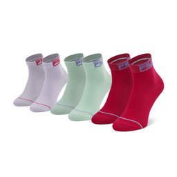 Fila Moteriškų ilgų kojinių komplektas (3 poros) Fila Calza F6101 Flower 805