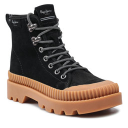 Pepe Jeans Ботильйони Pepe Jeans Ascot Desert PLS50429 Black 999