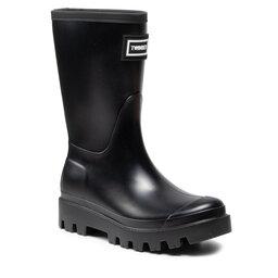 TWINSET Guminiai batai TWINSET Rain Boot 212TCP270 Nero 00006