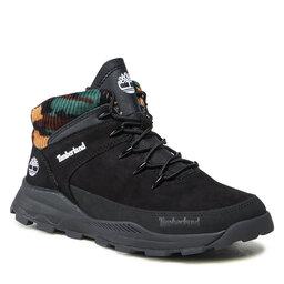 Timberland Turistiniai batai Timberland Brooklyn Euro Sprint TB0A2GXD0011 Black Nubuck W Camo
