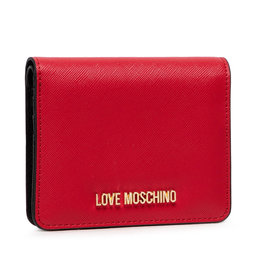 LOVE MOSCHINO Maža Moteriška Piniginė LOVE MOSCHINO JC5562PP0ALQ0500 Rosso