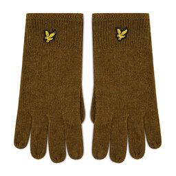 Lyle & Scott Чоловічі рукавички Lyle & Scott Racked Rib Gloves GL304CL Olive W485