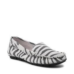 Nessi Мокасини Nessi 17130 Biały Zebra