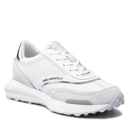 KARL LAGERFELD Снікерcи KARL LAGERFELD KL53920 01S White Lthr/Silver
